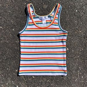🌈 Cropped Tank Top
